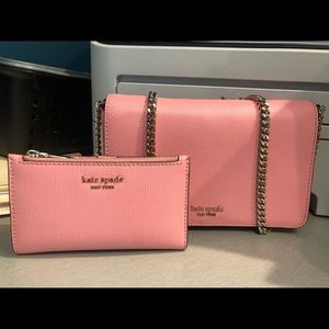 Kate spade Sylvia crossbody purse and wallet
